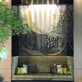 millenium mitsu garden hotel tokyo lobby