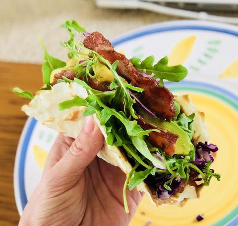 Bacon Avocado Taco
