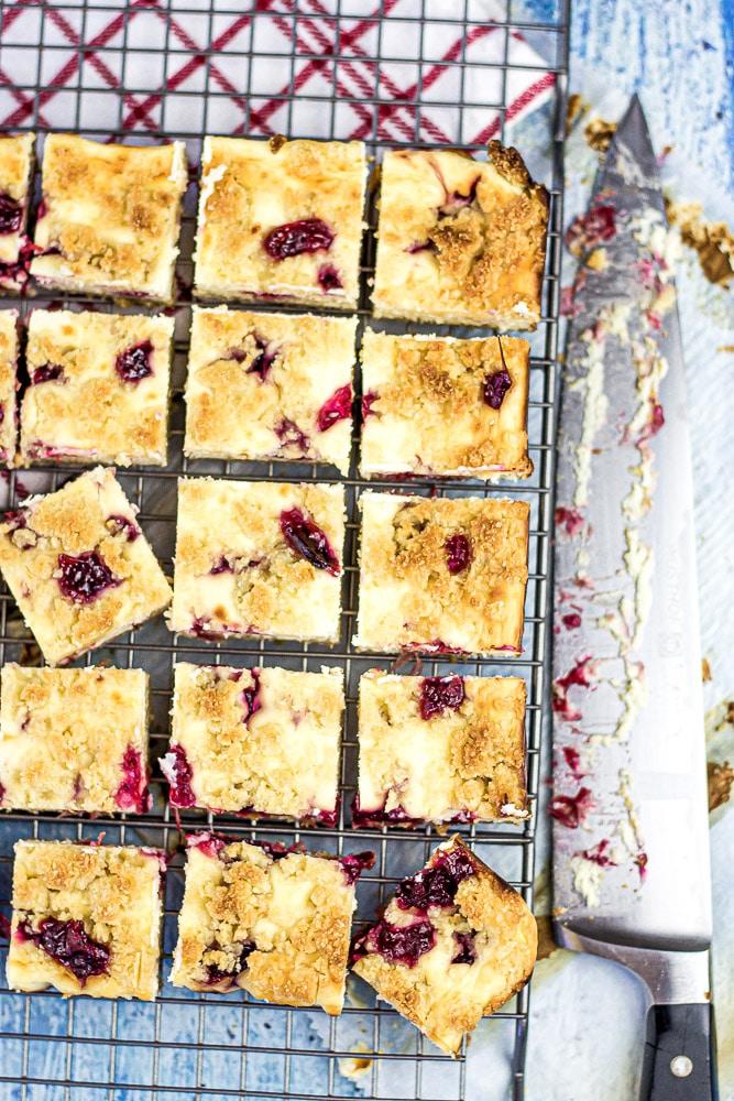 Sugar Free Cranberry Bars