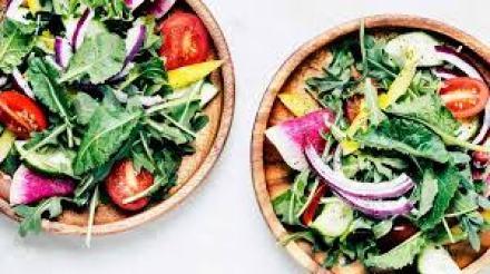 Colorful salad bowl