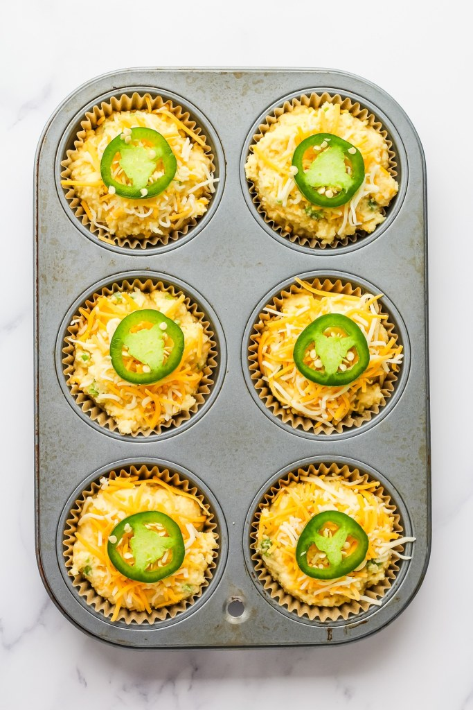 Muffins with Jalapeños and Cheese