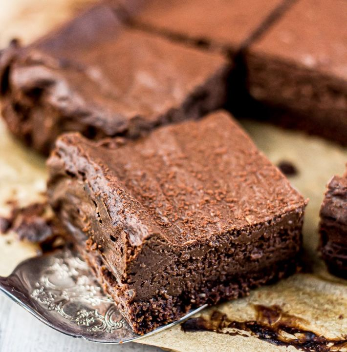 Low Carb Chocolate Cheesecake Bars