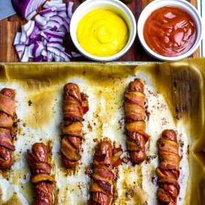 Bacon Wrapped Dogs