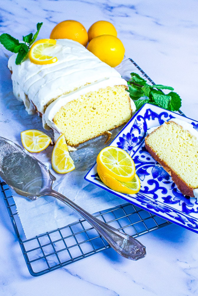 Low Carb Copycat Starbucks Lemon Loaf