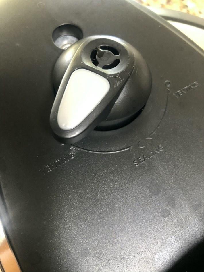 Venting - Instant Pot set up