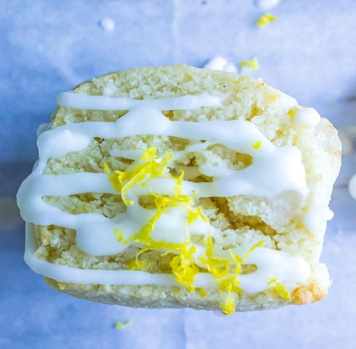 Love these Low Carb Lemon Drop Cookies