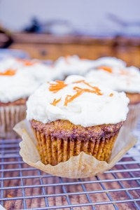 Keto Carrot Cake Muffins