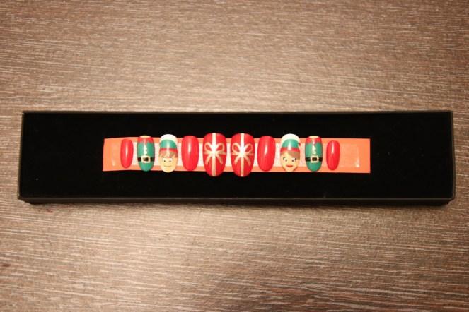 Christmas Gift Idea Elf nails