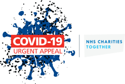 Covid-19 Logo saying Uggent Appeal