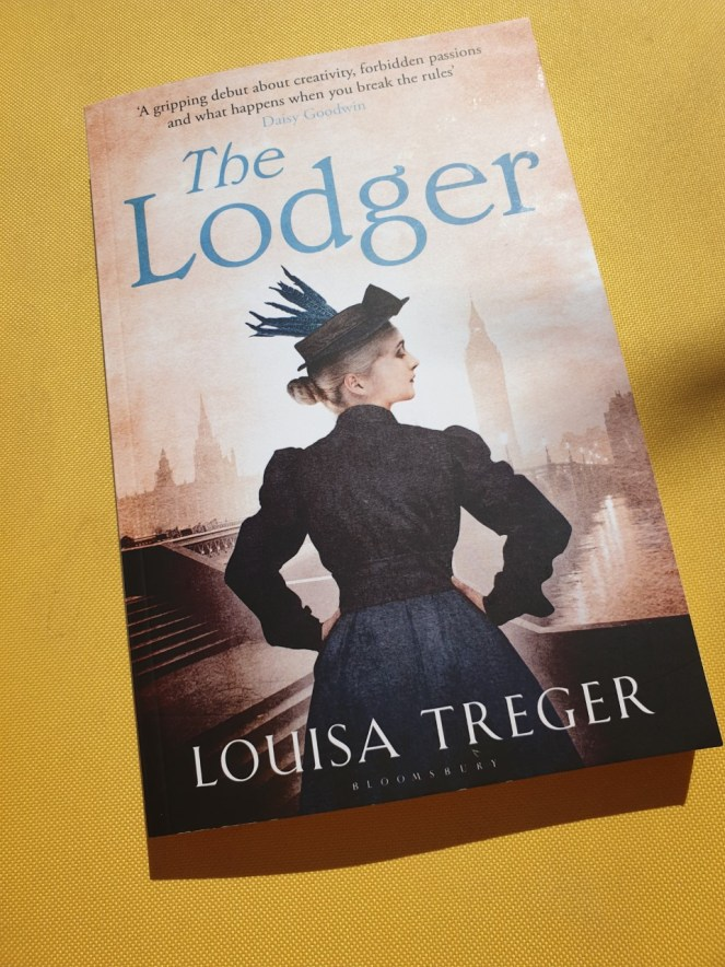 The Lodger by Louisa Treger front cover