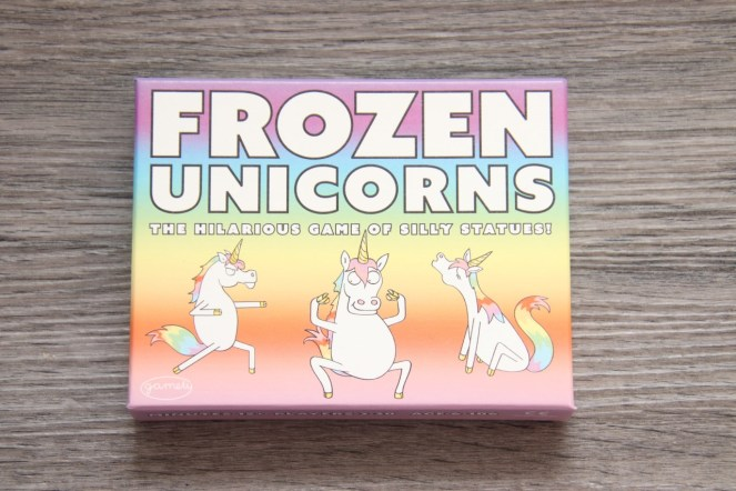 Frozen Unicorns Game Box