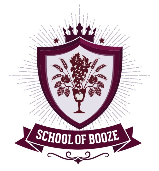 Father's Day Gift Guide Option School Of Booze Course Logo.