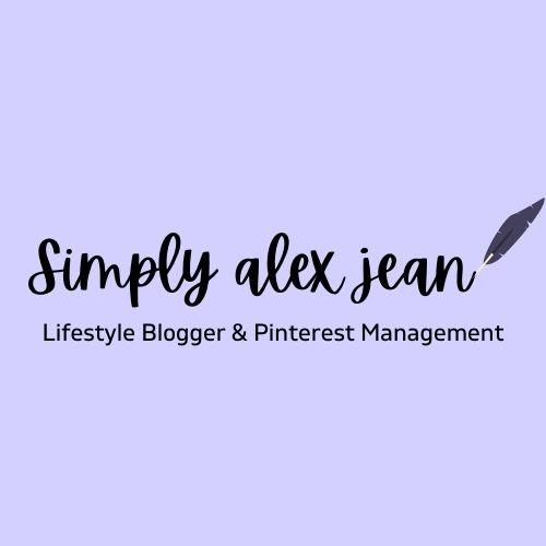 Meet my august advertisers Simply Alex Jean logo