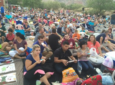 Las Vegas YMF members enjoying the cool summer night at the annual summer musicals at Spring Mountain Ranch. The 2016 musical was Tarzan and the 2015 musical was Monty Python and the Search for the Holy Grail
