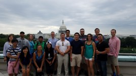 The group in front of the Capitol Building