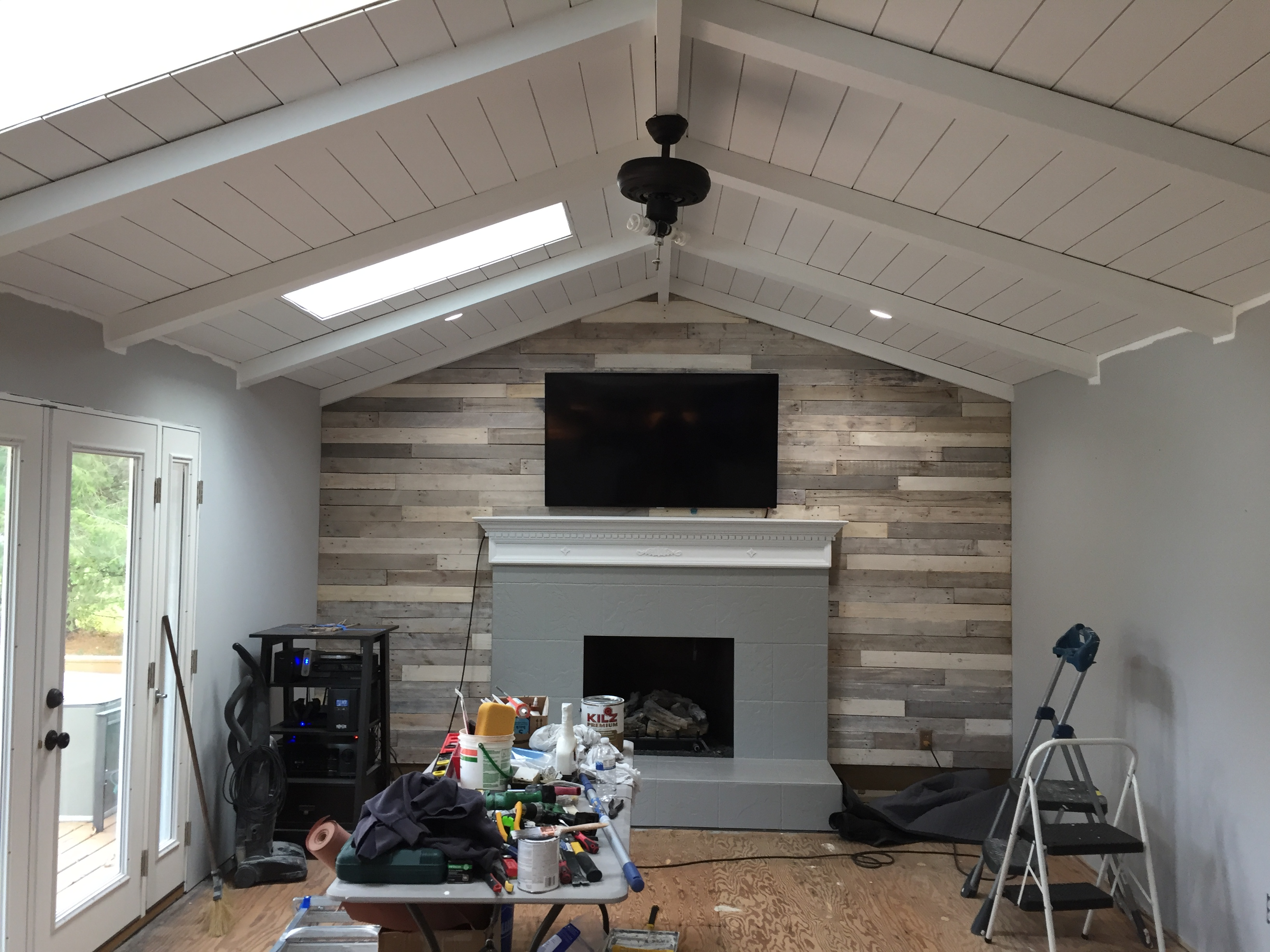 transforming warm to cool colored rooms  our french country farmhouse renovation