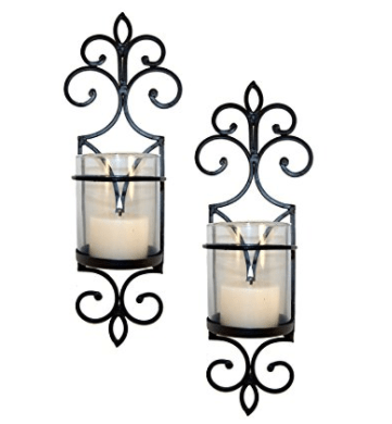 Pomeroy Pentaro Candle Holder Sconce Wall Lighting - Set of Two