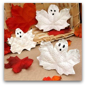 leaf ghosts craft