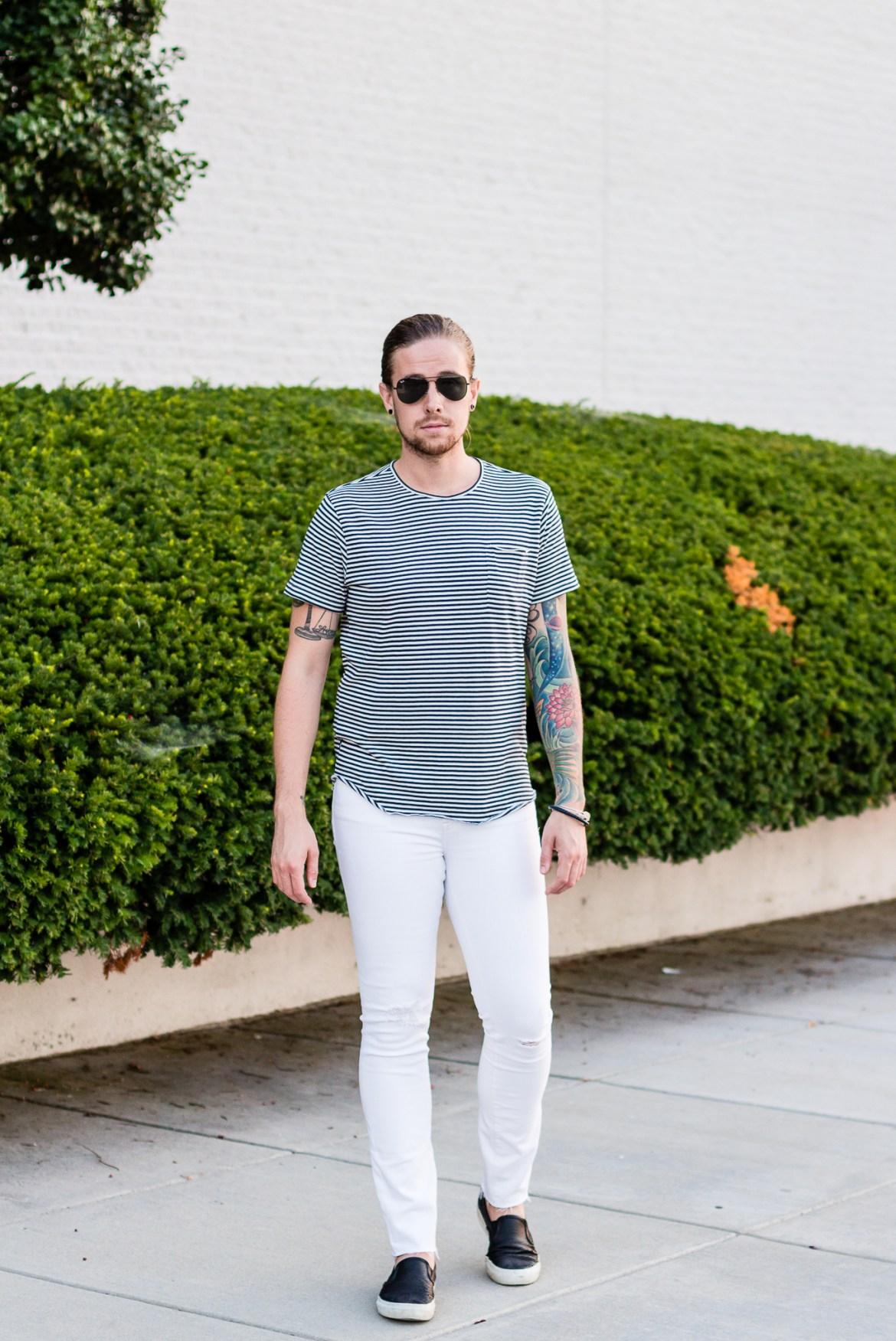 white denim, denim madewell, madewell denim, how to wear white