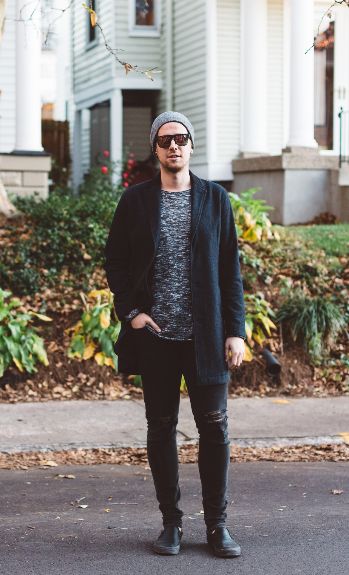 topman over, topman mens clothing, mens winter coats, how to wear a beanie, how to wear a blue coat