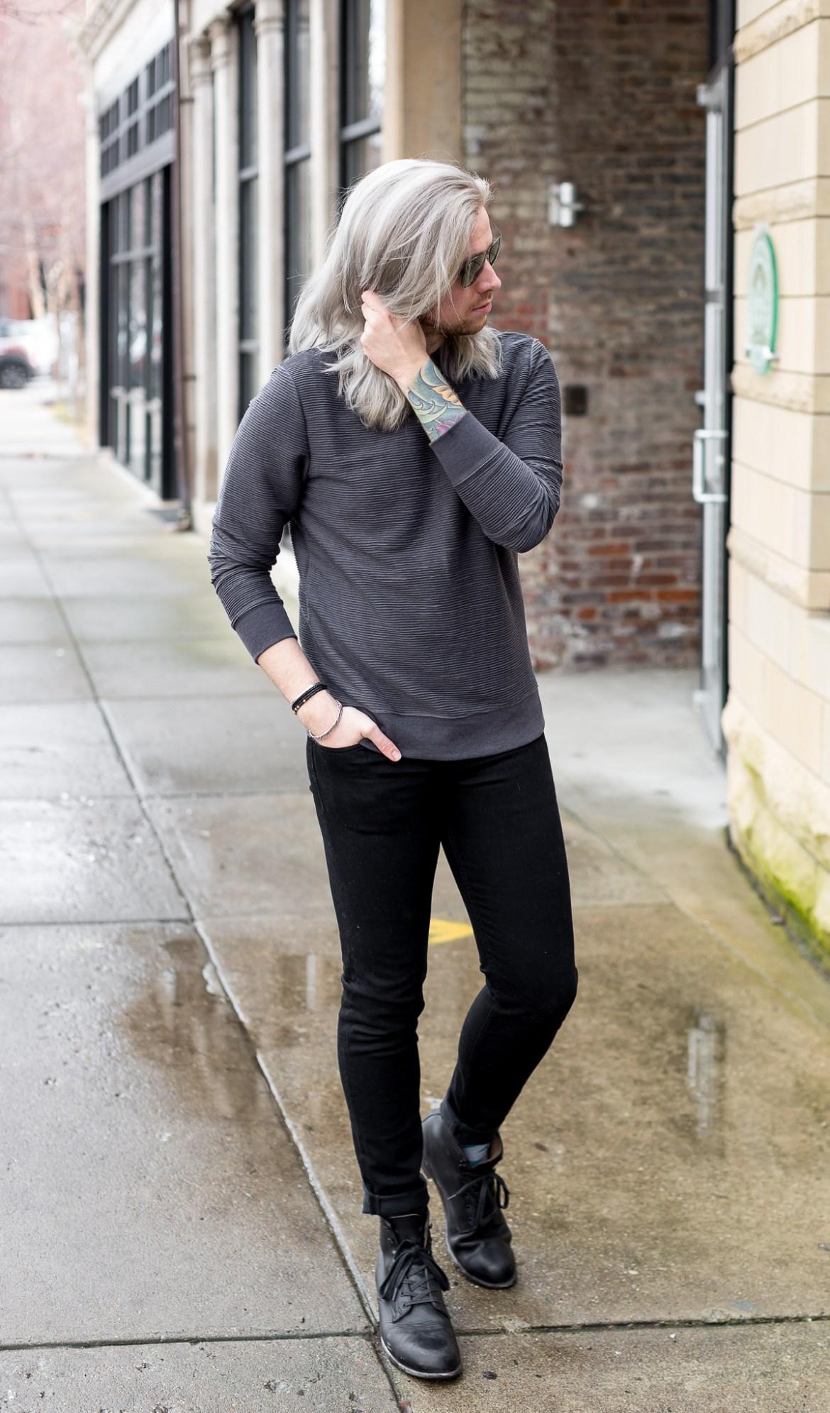 hm sweatshirt, mens affordable style, louisville blogger, kentucky blogger, mens blogger via @TheKentuckyGent
