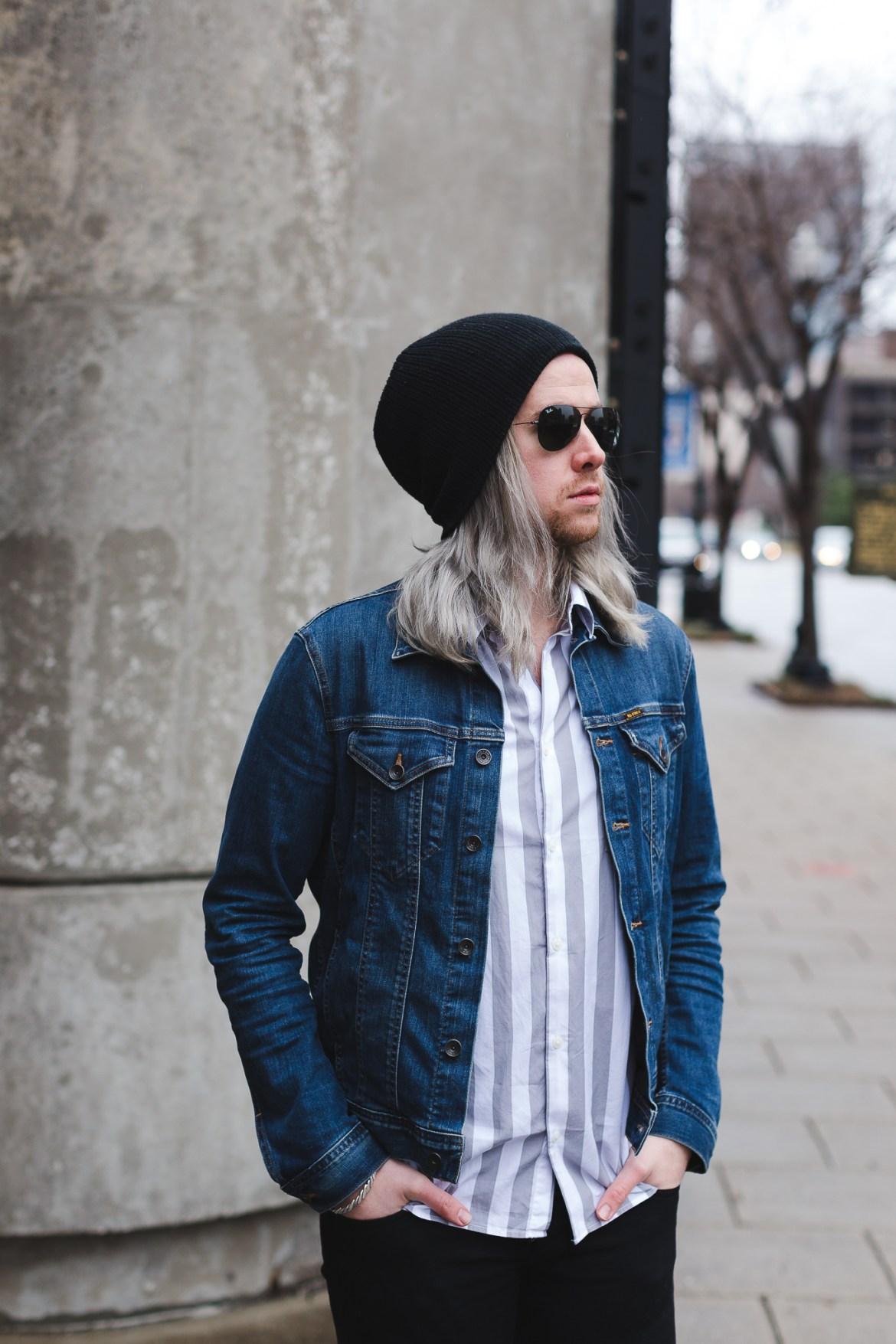 mens gray hair, mens grey hair, how to get grey hair, colored grey hair, mens fashion blogger
