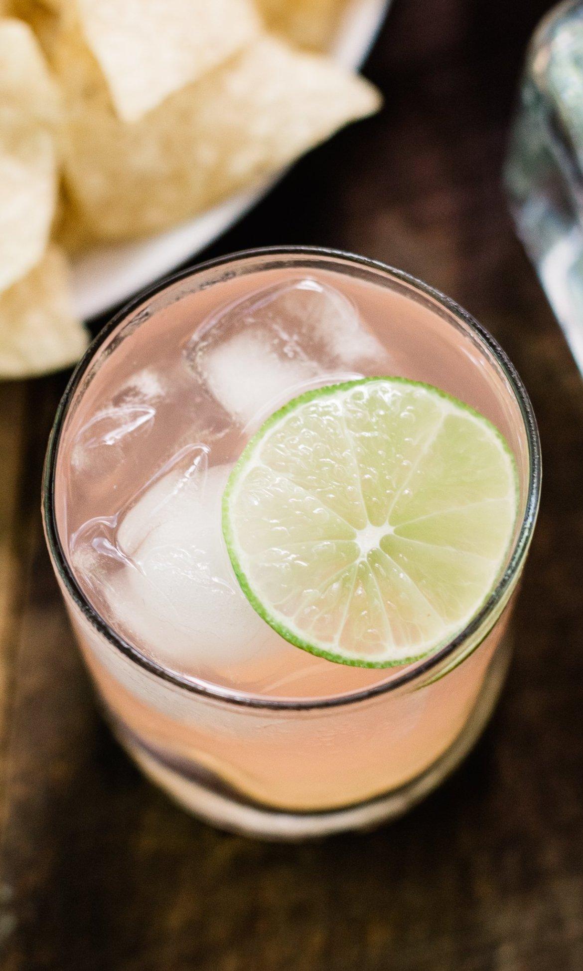 grapefruit guacamole, grapefruit paloma, lunazul tequila, paloma recipes