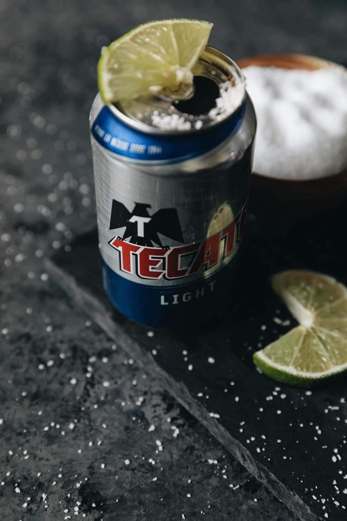 loaded tecate light can