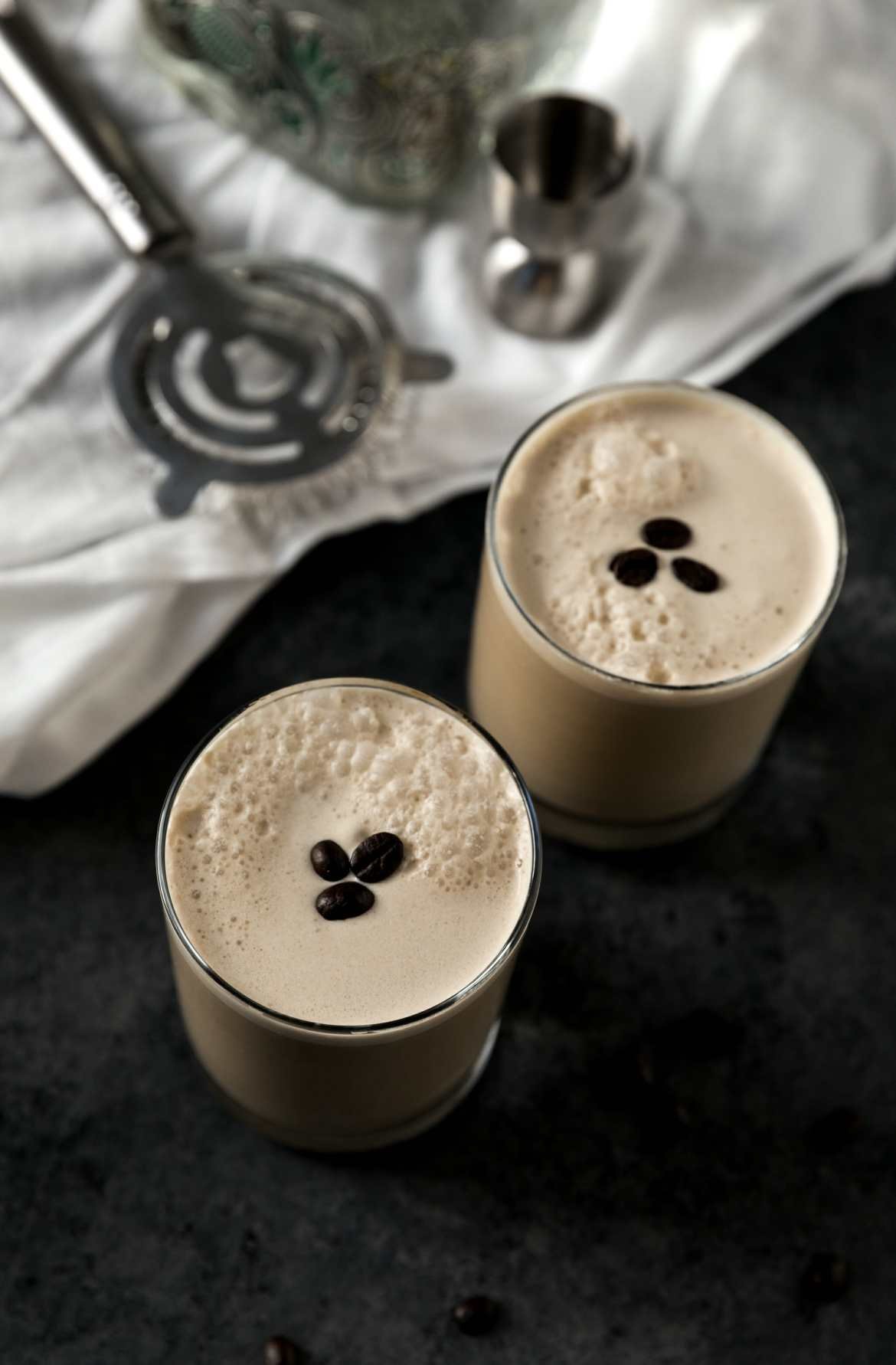 coffee cocktail with tequila