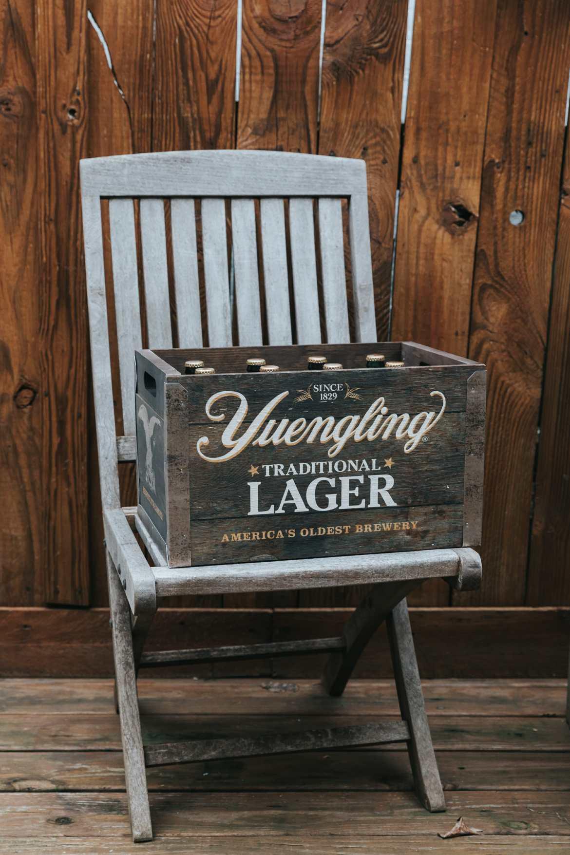 yuengling beer crate