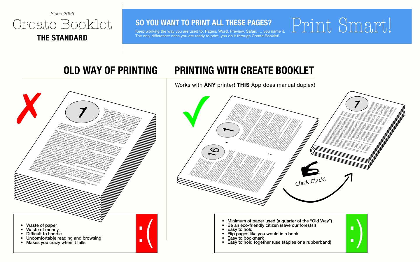 Create Booklet The Standard Print Any Document As A