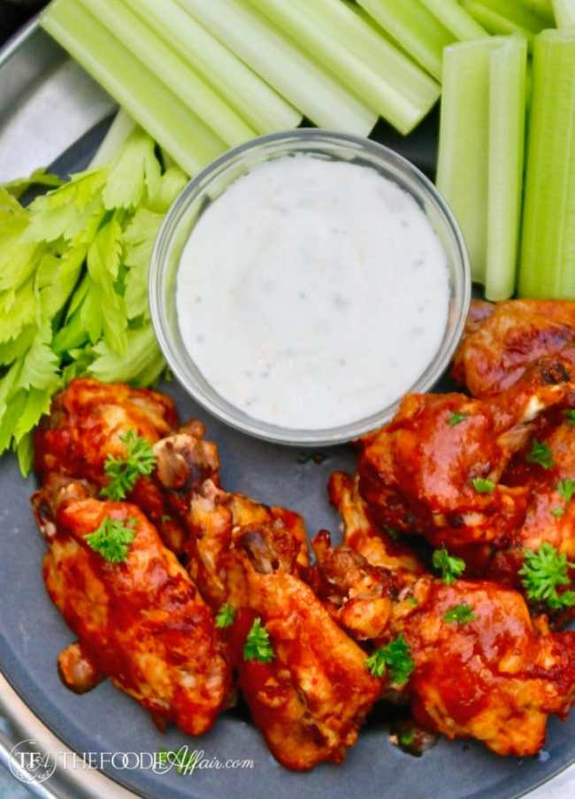 Instant Pot Chicken Wings and Drumettes