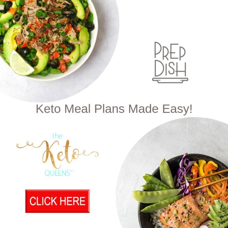 free 1 week keto meal plan prep dish