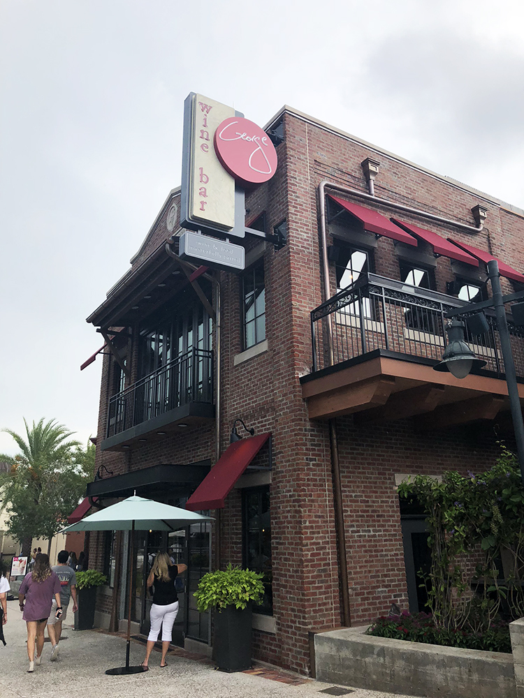 Wine Bar George at Disney Springs