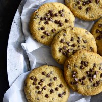 chewy chocolate chip cookies featured image