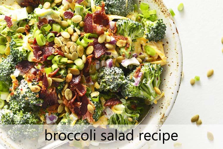 Broccoli Salad Recipe with Description