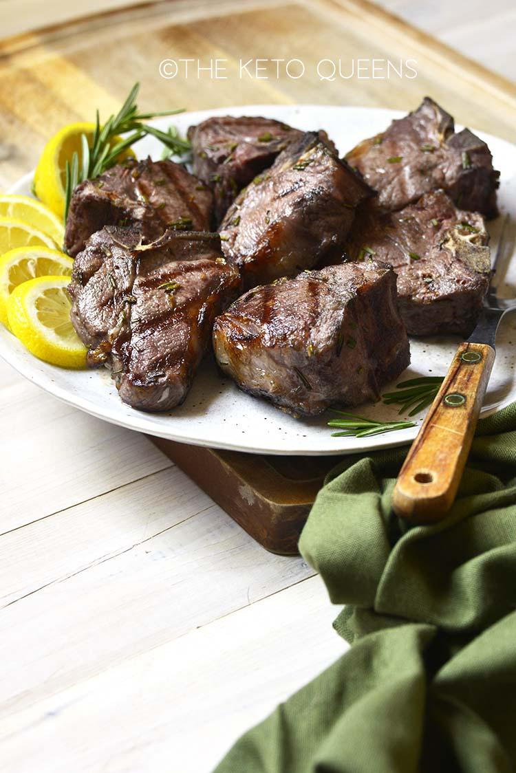 marinated lamb chops