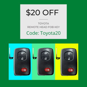 $20 0ff coupon for replacement key services at The Key Crew