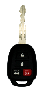 TOY-250H remote head key with four buttons: lock, unlock, panic and trunk OEM: 89070-06421 FITS: Toyota Camry 2014-2018 Toyota Corolla 2014-2018