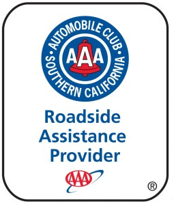Logo of Automobile Club of Southern California AAA roadside assistance