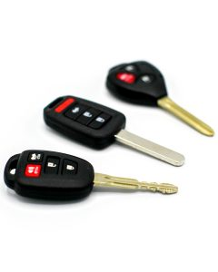 Transponder Key example for car key replacement