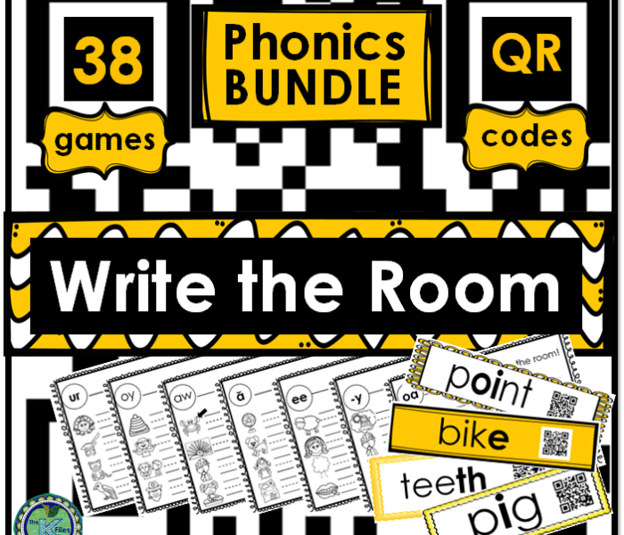 Write the Room with QR Codes!!!