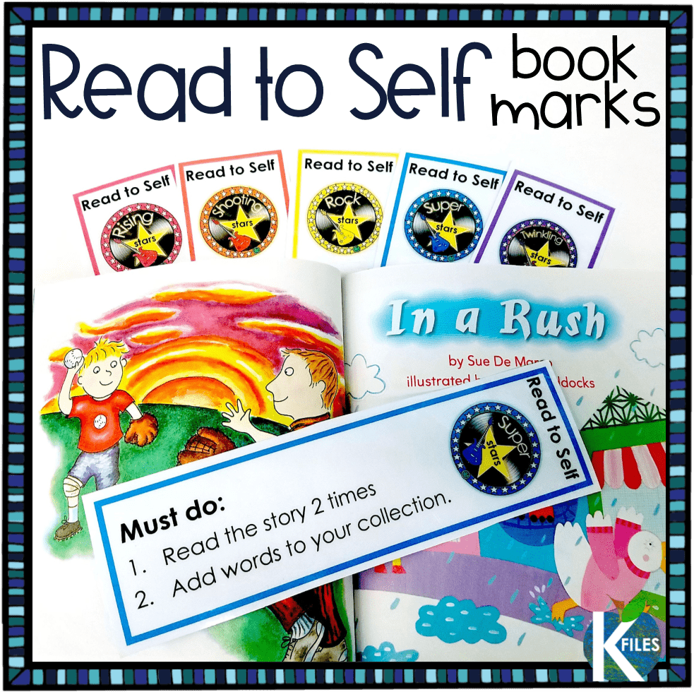 "In addition to my students' Word Work during our Daily 5, one of their ""Must Do"" items is to Read to Self. During this time the children are assigned a story to read from one of our decodable readers that reinforces their Word Study Goal. This is a great classroom management tool that will support your implementation of Words Their Way in your phonics and spelling teaching program."