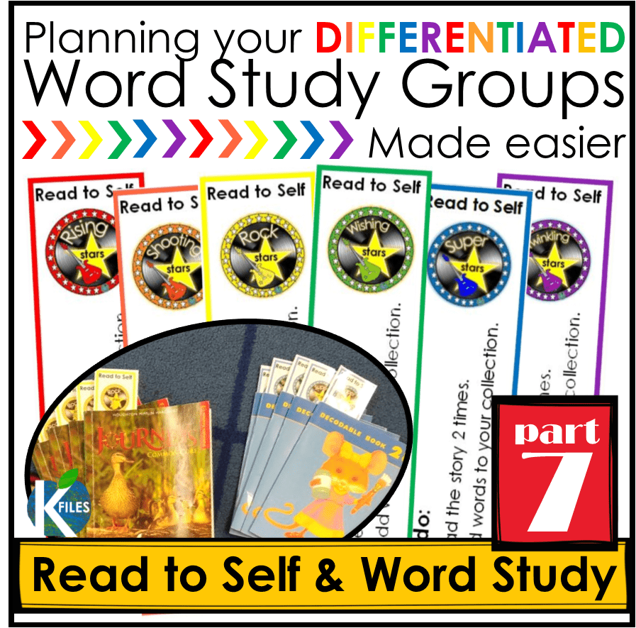 Words Their Way, OUR way Part 7: Read to Self as Word Study