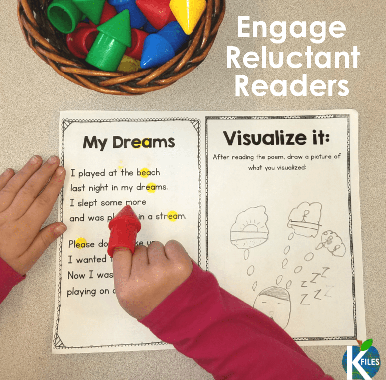 "The K Files: 4 Tips to Motivate Struggling Readers to DECODE, not GUESS! To help my students locate ""word chunks"" we use this coded system. They color code their sight words, articles, poems and word problems we read. They even love to ""gumball up"" their own writing! This visual and kinesthetic approach to phonics is a great strategy for Word Work, Spelling, Phonics Instruction to visually highlight word chunks and phonics rules."