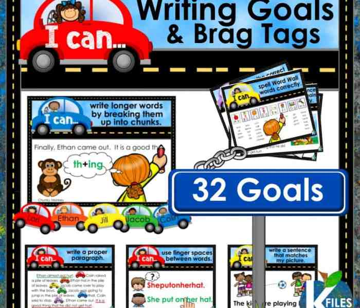 Differentiate Your Writing Instruction with Writing Goals
