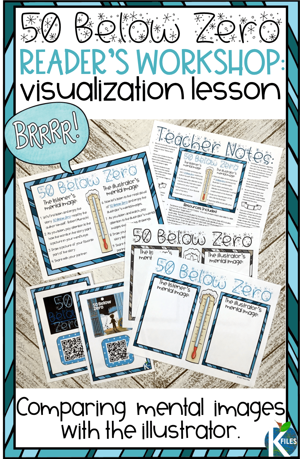 Are you looking for powerful visualizing activities to help your students create mental images during your Reader's Workshop? This humorous winter read aloud is perfect for visualizing details in a text. Your students will build their visualization reading strategies while listening to the story first without illustrations and then illustrate their own mental image. Excellent mental images activities for kindergarten, first grade and all grade levels!