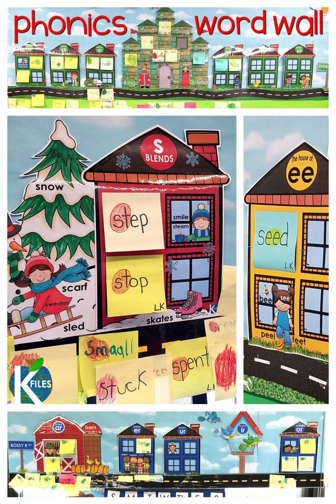 "Ditch your traditional word wall and go with this TRULY interactive Phonics Word Wall. Making the switch was a total game changer in my phonics and spelling instruction. Not to mention it works with Words Their Way and any spelling curriculum! Your students will refer to the Word Wall during your readers and writers workshop, and you won't worry about wasting valuable wall space because your word wall won't just be ""décor"" any longer. It is a win win! #firstgrade #phonics"
