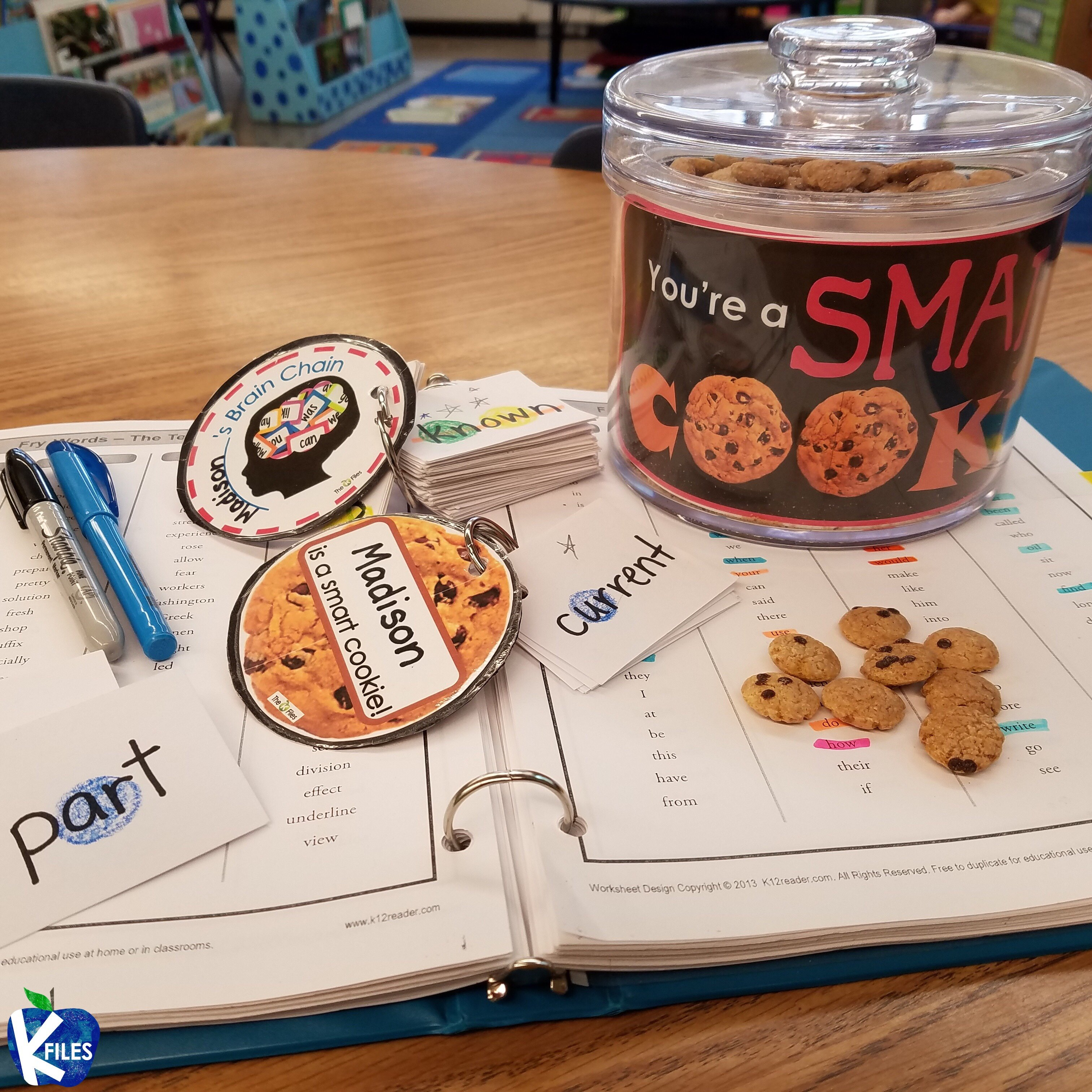 Be a Smart Cookie! A Differentiated Sight Word Fluency System