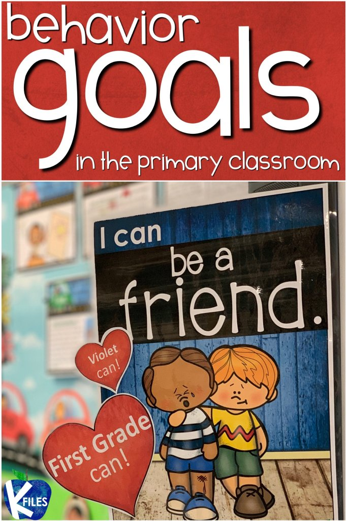 "If you are looking for a way to help your students take ownership of their behaviors, try setting behavior goals! This set of 9 classroom rules posters with ""I can"" statements will help foster a positive learning environment for your classroom. A Back to School bulletin board display is a must in order to visually remind your students of what behaviors you expect to see in your classroom. Add this poster set to your behavior management system."